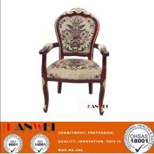 Solid Wooden Armrest Chair Wood Chair