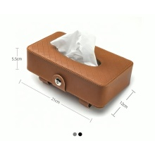 Customized distributor bracket car sun visor tissue box