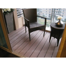 Alta qualidade WPC Decking Floor sólido Outdoor Board Atacado de madeira plástico composto Decking Laminate Flooring