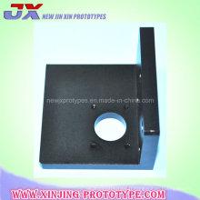 L'aluminium anodisé par noir partie des pièces de usinage de commande numérique par ordinateur de support d'engrenage