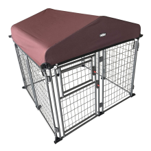 Outdoor Heavy Duty  Kennel with Roof