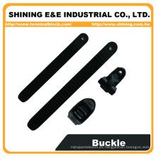 BC25A-BL15A Lazo ajustable de montaje en hebilla de plástico