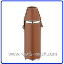 Stainless Steel Wine Bottle Hip Flask Sets (R-HF009)