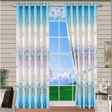 Cortinas de sala de estar de cortina de cortina de janela