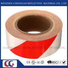 Honeycomb Stripe Reflective Hazard Self Adhesive Sticker Rolls (C3500-S)