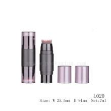 Maquillaje del corrector 7ml con el cepillo al por mayor tubo plástico vacío del cosmético