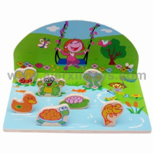 Wooden 3D Puzzle with Cute Animal Pieces