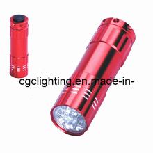 Linterna de aluminio de la batería seca del LED (CC-019)
