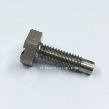 CNC Machining Custom Steel Hex Screw Fittings