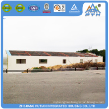 Commercial quickly assemble modern prefabricated steel structure hotel house building