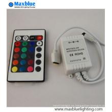 DC12-24V 24key IR Mini RGB LED Controlador