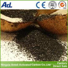 tratamiento de agua de cáscara de coco con carbón activado 8x30