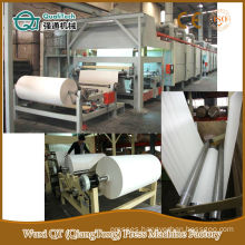 Decorative melamine kraft paper impregnation line machine