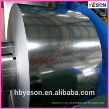 Öl lackierte verzinkte Stahlspulen / verzinkte Stahlspulen mit konkurrenzfähigem Preis / SGCC verzinkte Stahlspulen