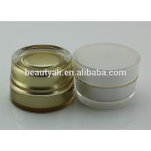 plastic acrylic cosmetic cream jars wholesale 2ml 5ml 10ml 15ml 30ml 50ml 100ml