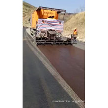 Intelligent Slurry Sealer Car for Road Resurfacing