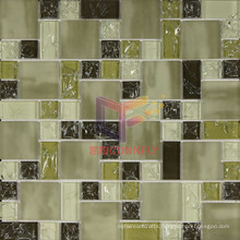 Mixed Color Crystal Ice-Cracked Mosaic (CCG203)