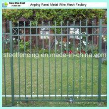 Fábrica da China Galvanizado Faux ferro forjado Cerca Fo EUA