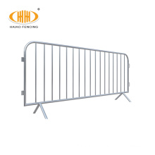 security portable steel construction safety barriers and concert crowd control barricade