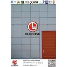 Globond Plus PVDF panneau composite en aluminium (PF120)