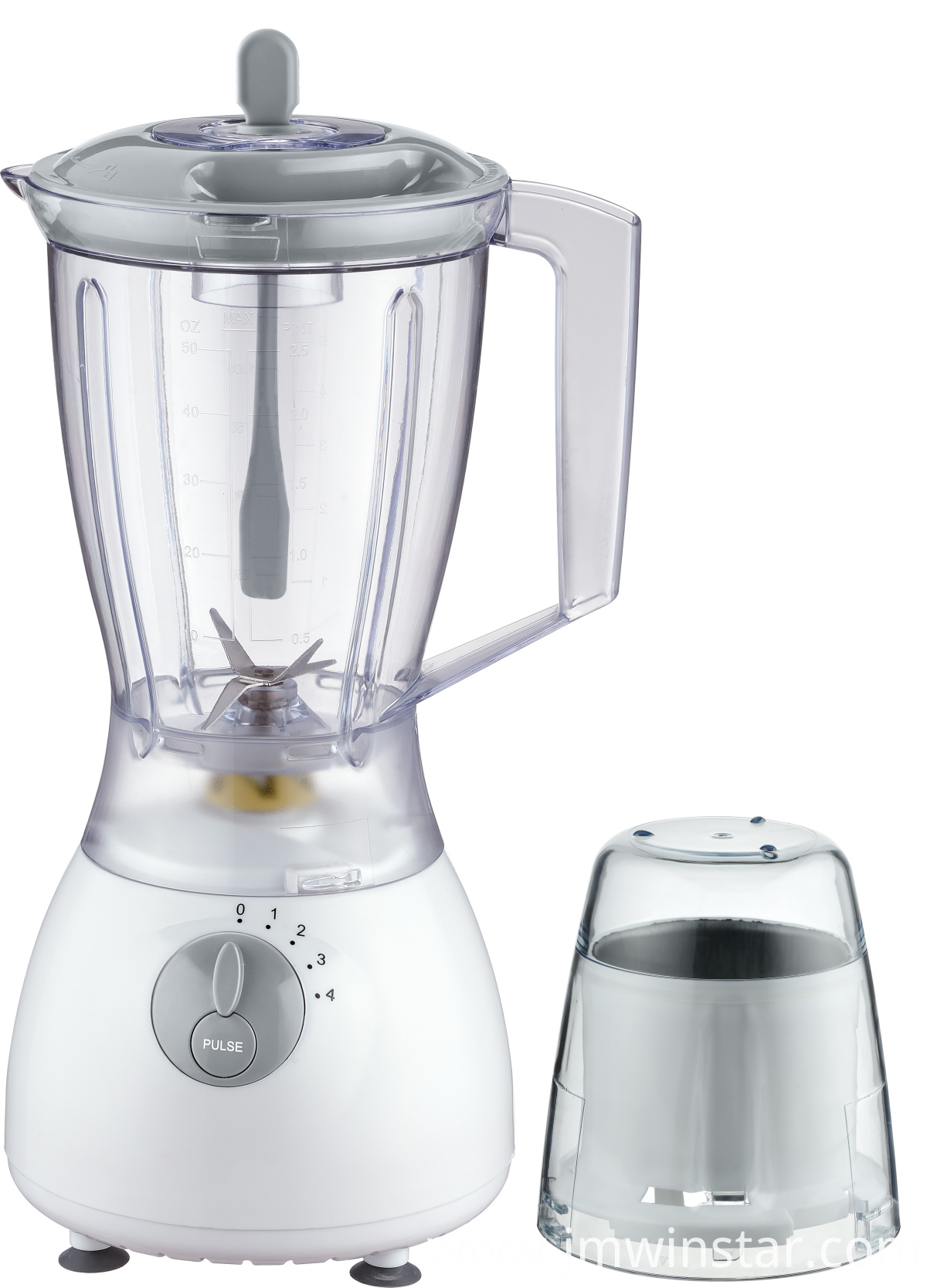 Commercial and Household Chromed Color Blender