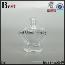 форма бабочки стеклянная бутылка, пустой гвоздь польский гель контейнер
