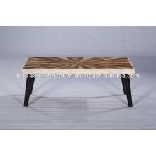 Mesa de centro moderna de madera de alta calidad
