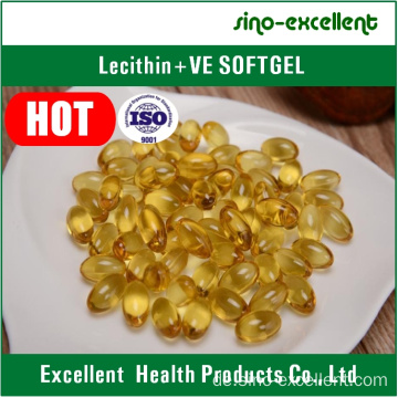 Lecithin + Vitamin E Softgel / Weichkapsel