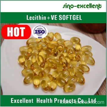 Lecitina + vitamina E Softgel / capsula molle