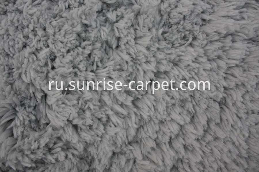 Soft Imitation Fur Shaggy Rug Grey
