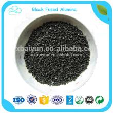 Abrasive Black Fused Alumina for polishing abrasive toolAbrasive Black Fused Alumina for polishing abrasive tool