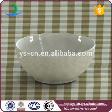 Bolo de sopa barato tigela de salada tigela de cerâmica por atacado