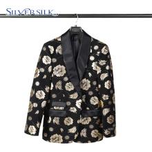 Col châle Polyester parti porter des vêtements hommes costume