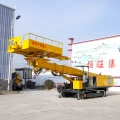 Foundation grouting blasting hole drilling rig mountain rock geotechnical drill rigs max 30m deep
