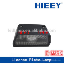 E-MARK Offroad License plate lamp truck license plate lamp number plate light