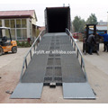 China machte beweglichen hydraulischen Dock-Planierer / Laden-Rampe mit dem CER bescheinigt