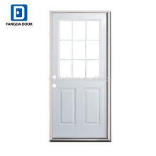 Fangda haute qualité blanc apprêté conception de porte de bureau