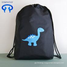 cute 201D nylon drawstring bags backpacks for kids
