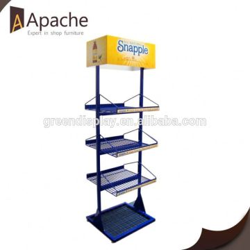 Hot sale hot sale paper 4 sided brochure display stand