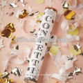 Colorful Gold Foil Shapes Factory Confetti Party Popper Blaster