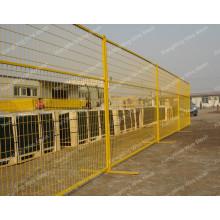 Clôture temporaire en PVC pour le marché canadien (avec ISO9001 et SGS)