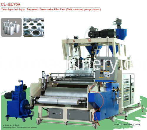 cl-55/70A stretch film machine