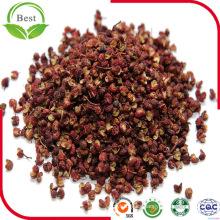 Pimiento seco de Sichuan con color rojo