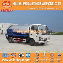 Japan technology 4x2 4000L small vacuum sewer truck