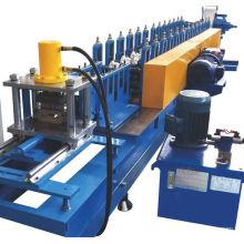 PU foam rolling shutter slats steel door making machines