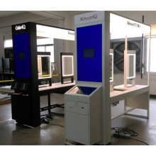 Store Mall Cosmetic Make up Display Kiosk Stand
