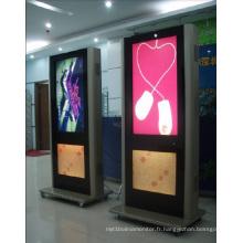 Affichage à cristaux liquides de la publicité 55inch