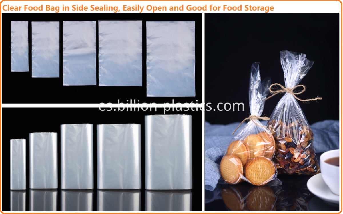 Side Sealing Food Bag