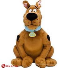 EN71 & ASTM Standard Scooby doo Plüsch Hund weichen Spielzeug