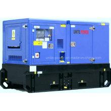 Великобритания дизельный двигатель Звукоизоляционный Тепловозный комплект генератора (UP125)